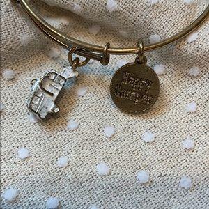 Happy Camper charm bracelet.